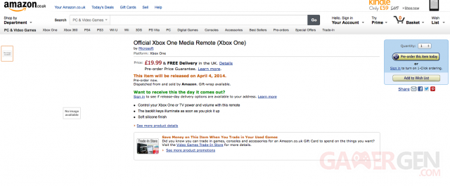 Amazon UK te?le?commande Xbox One