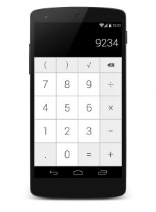 android-mock-calculator
