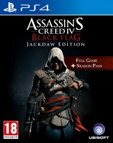 assassin's creed IV black Flag Jackdaw Edition PS4