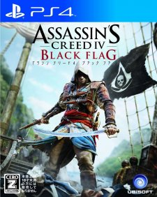 Assassin's Creed IV Black Flag jaquette japonaise