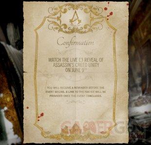 Assassin s creed unity invitation E3