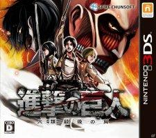 Attack on Titan jaquette japonaise 02.10.2014