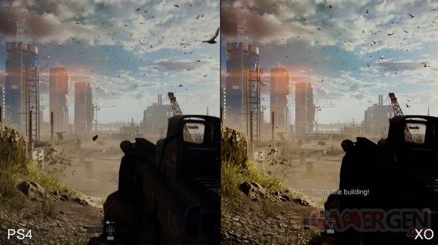 Battlefield 4 comparaison 29.10.2013.