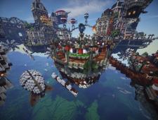 BioShock Infinite x Minecraft 1