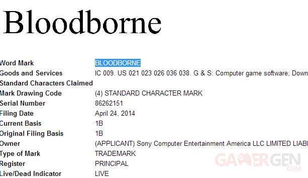 Bloodborne Sony Computer Entertainment