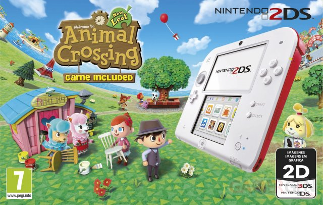 Bundle 2DS Animal Crossing 1