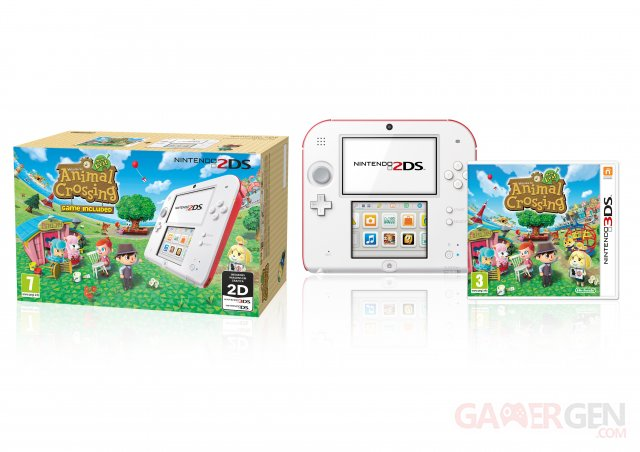Bundle 2DS Animal Crossing 2