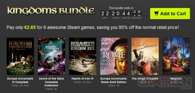 Bundle Stars Kingdoms