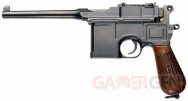 call of duty black ops II zombies origins Mauser C96 001