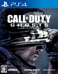Call of duty ghost jaquette japonaise
