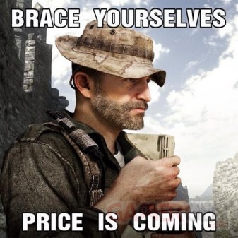 call of duty ghosts Captain Price