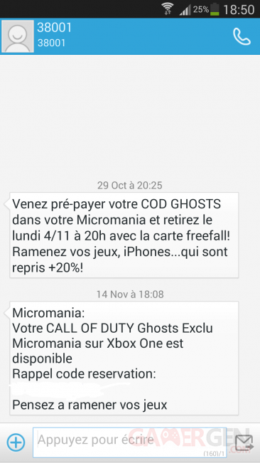 call of duty ghosts disponible micomania