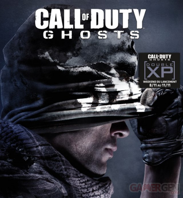 call of duty ghosts double XP week-end