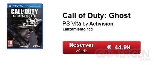 call of duty ghosts psvita gamestop