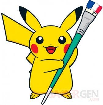 Centre Poke?mon Paris logo Pikachu