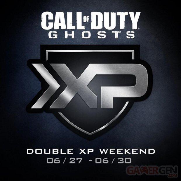 CoD Ghosts Double XP Juin