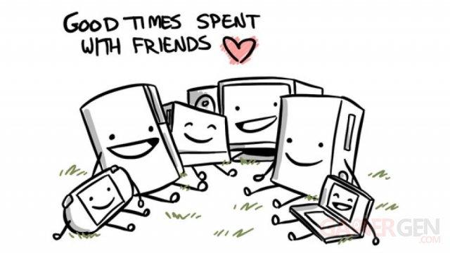 consoles amis pour la vie