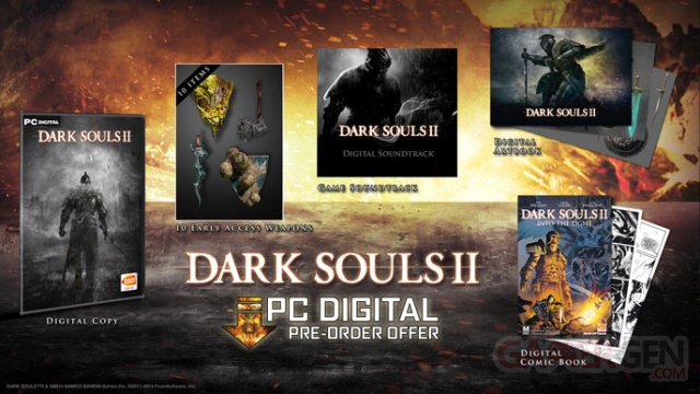 Dark Souls II bonus pre?commande Steam