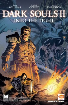 Dark Souls II comic book 1