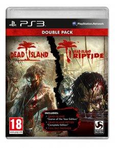 Dead Island Double Pack PS3 jaquette 16.05.2014