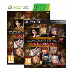 Dead or Alive 5 Ultimate jaquettes ps3 xbox 04.09.2013.