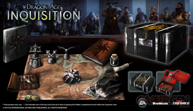 Dragon Age Inquisition Edition collector