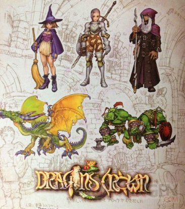 Dragon's Crown concept Dreamcast 1