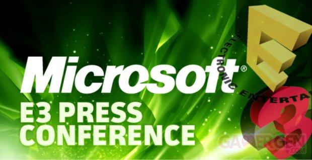 E3 Microsoft press conference