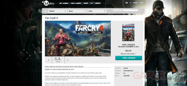 Far Cry 4 fuite