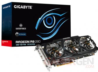 Gigabyte Windforce OC r9 2803