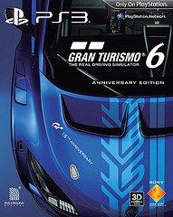 gran turismo 6 15th anniversayr edition jaquette
