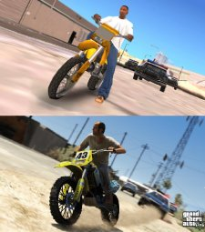 GTA V comparaison San Andreas images 01