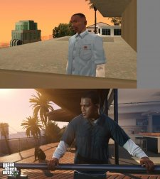 GTA V comparaison San Andreas images 02