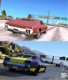 GTA V comparaison San Andreas images 04