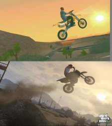 GTA V comparaison San Andreas images 08