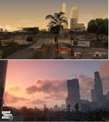 GTA V comparaison San Andreas images 09