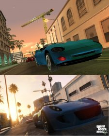 GTA V comparaison San Andreas images 13