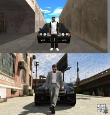 GTA V comparaison San Andreas images 14