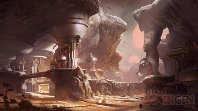 Halo 5 guardians artwork