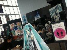 Hatsune Miku Sega reportage event Japon Tokyo cafe 17.07.2013 (6)
