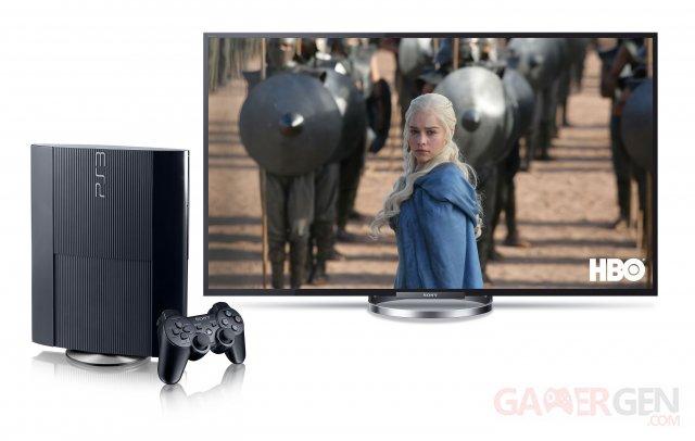 HBO sur PlayStation 3 et PlayStation 4