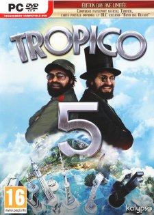 Jaquette PC Tropico 5