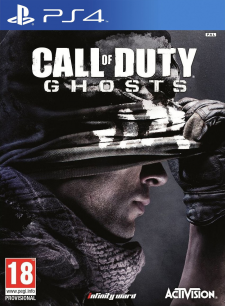 Jaquette PS4 Call of Duty Ghosts