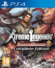 Jaquette PS4 Dynasty Warriors 8 Xtreme Legends Complete Edition