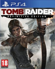 Jaquette PS4 Tomb Raider Definitive Edition