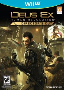 Jaquette Wii U Deus Ex Human Revolution Director's Cut