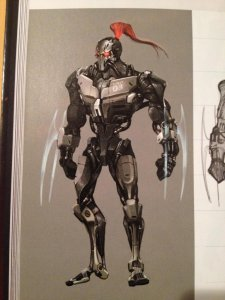 Killer Instinct Fulgore artbook 25.11.2013 (1)