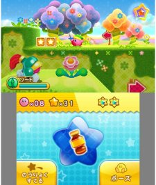 Kirby Triple Deluxe images screenshots 1