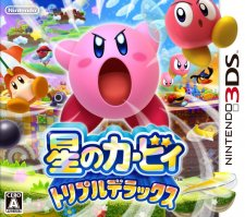 Kirby Triple Deluxe jaquette