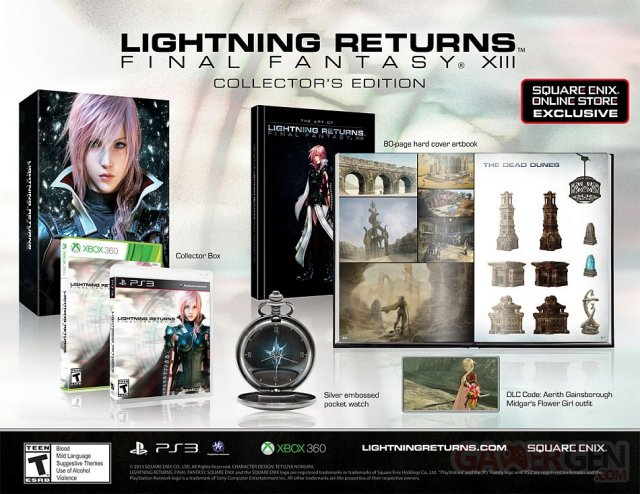 Lightning Returns Final Fantasy XIII collector US